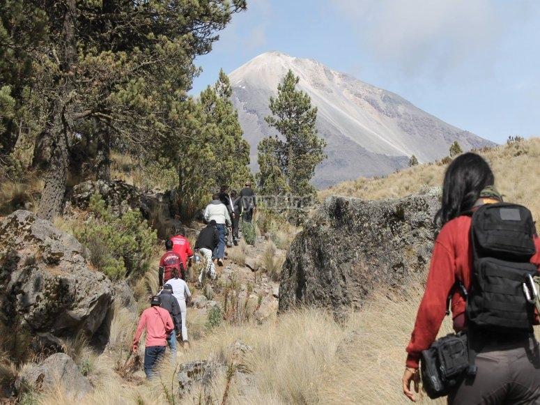 Let's hike to the Pico de Orizaba