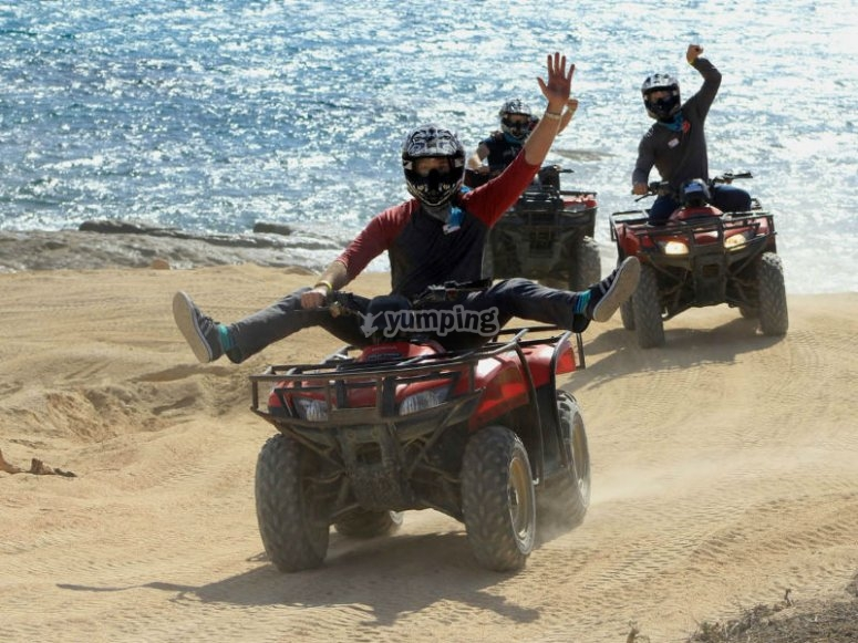 Beautiful landscapes while driving your ATV