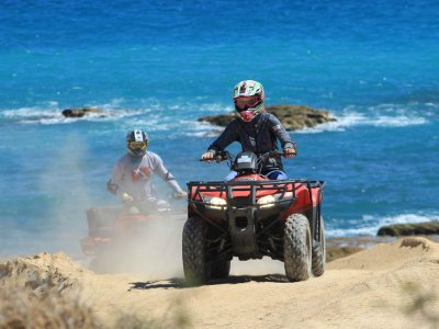 1 hour and a half quad route, Los Cabos