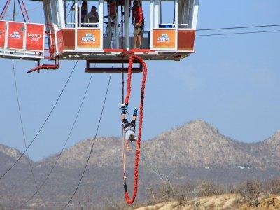 Aventura de salto en bungee en Los Cabos 4 horas