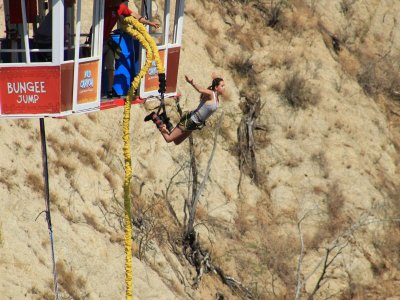 Bungee jumping in Los Cabos