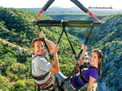 Salto en columpio gigante 2 pax en Los Cabos 4hrs