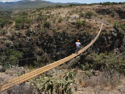 Zip-line 1h30min San Miguel de Allende