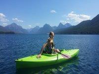 Cualquier momento es ideal para el kayak