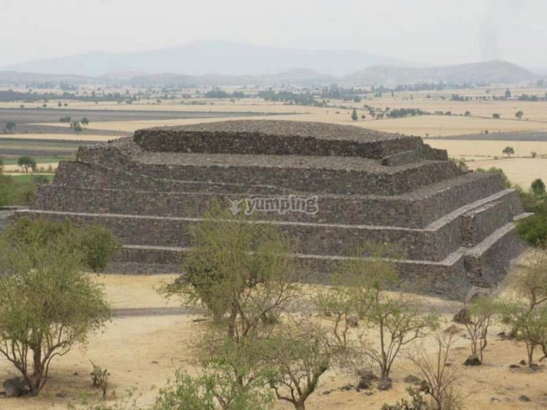 San Miguel de Allende Pyramids
