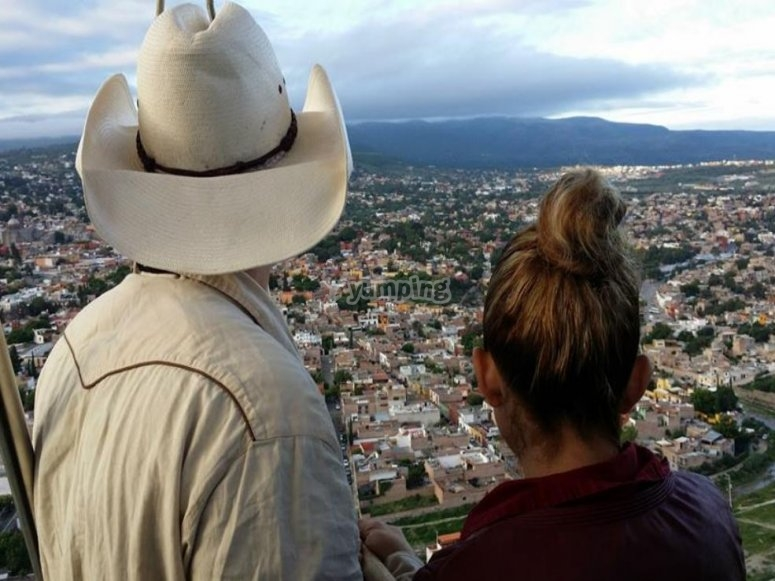 Get to know Guanajuato from the air