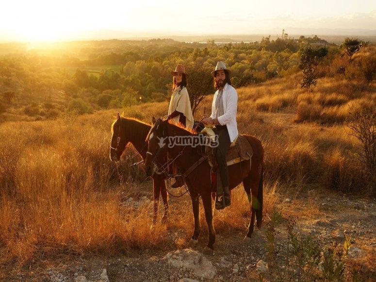 Horseback riding in San Miguel de Allende