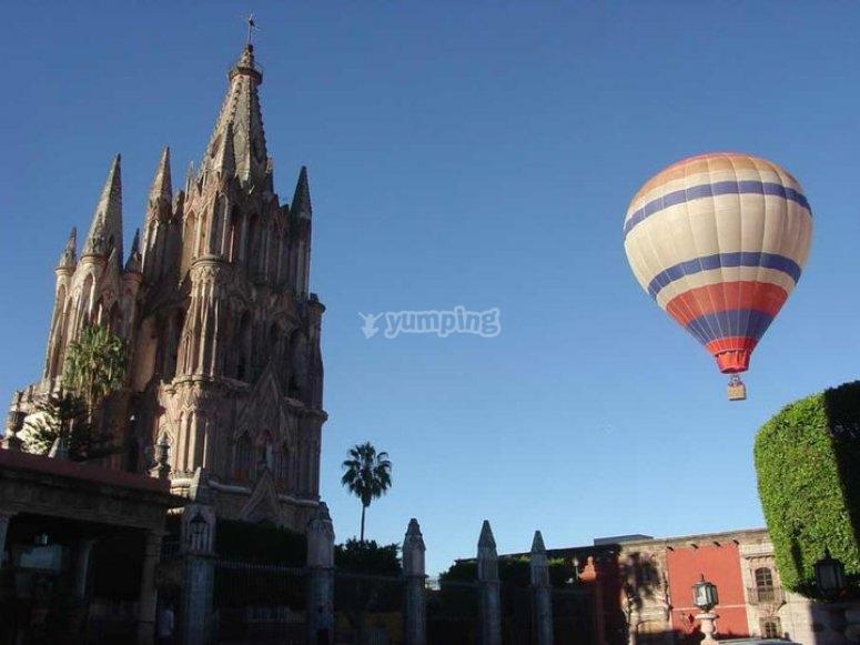 Balloon flight in San Miguel de Allende