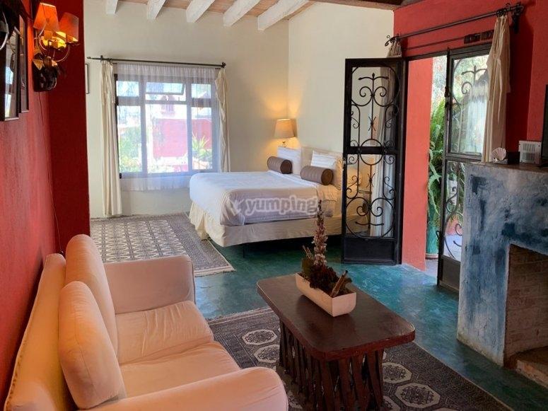 Casaluna hotel premium room