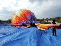Shared balloon flight over San Miguel children