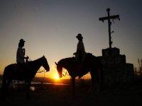 Night horseback riding in San Miguel de Allende