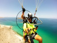 Powered paragliding in Cabo San Lucas