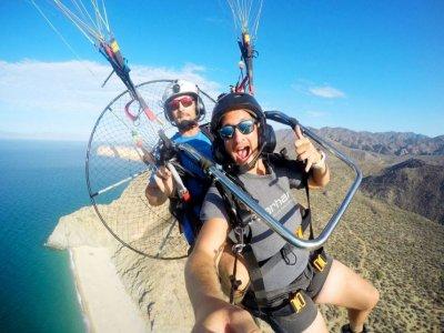 Paramotoringin Cabo San Lucas, 35 min.