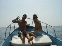 Viaje para hacer snorkel