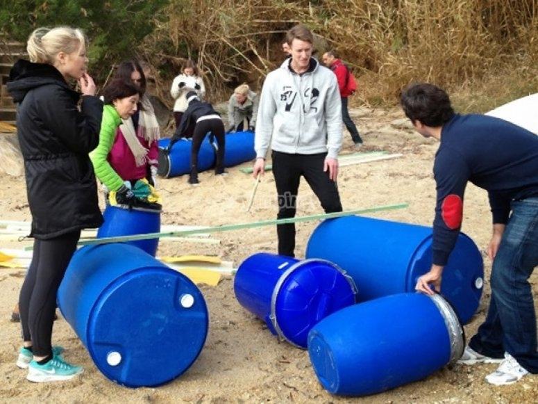 Creating the raft