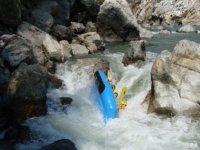 Lancha rafting