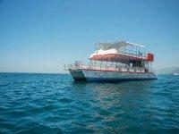 Nuestro catamaran