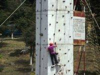 To climb to the palatforma