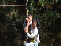 Tirolesa en pareja