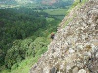 descenso de montana
