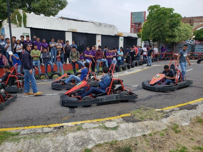 Go-kart race for groups in Puebla