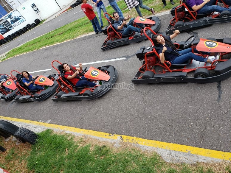 Celebrate your birthday in our karts Puebla