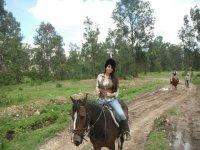 Riding in morelia
