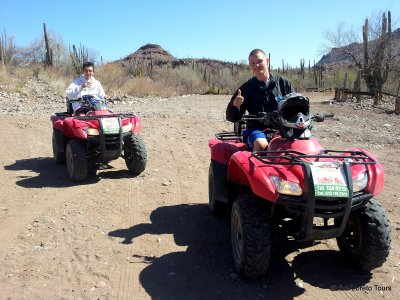 All-terrain Vehicle Guided Tour in Loreto 2h30m