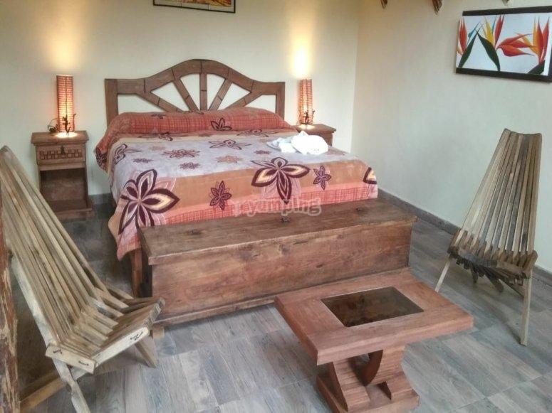 Room in cabin