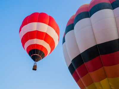 Shared balloon ride, night tour and lodging Huasca