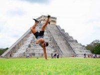 Good energy in Chichen Itzá