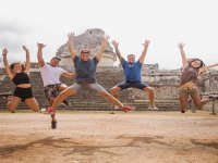 Enjoying Chichen Itzá