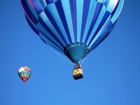 Balloon flight for VIP couples, Huasca