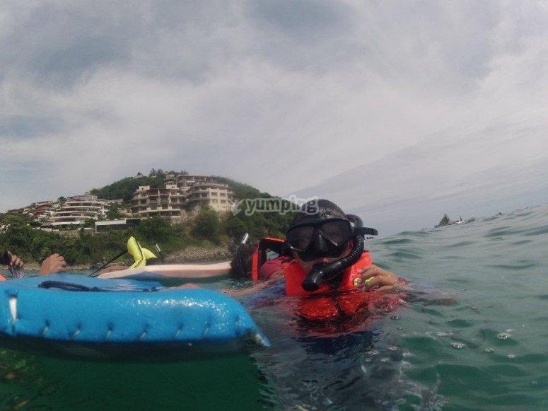 Snorkel in Ixtapa