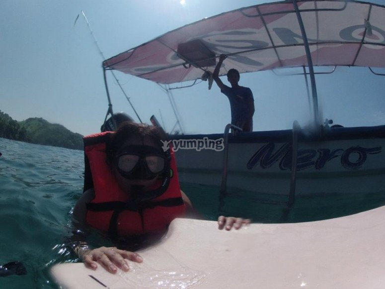 Discover the marine life of Ixtapa with our snorkel tour