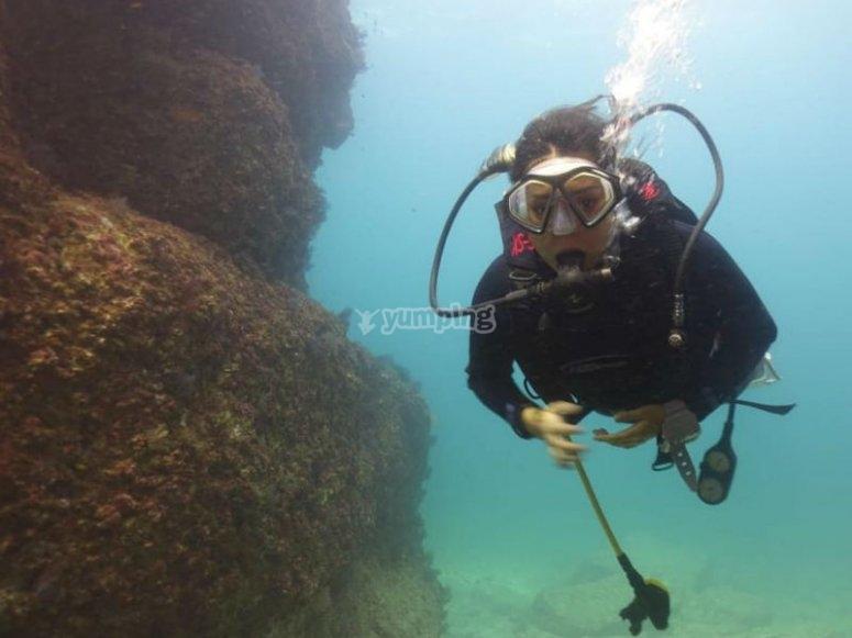 Aventura máxima bajo el agua de Ixtapa