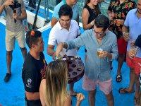 Bebidas en barco