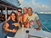 Paseo en barco en Cancún