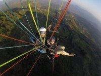 Experimentando vuelo