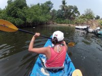 A remar en los kayaks