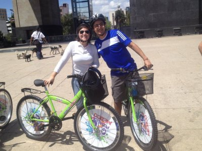 Cultural cycling tour in Mexico city