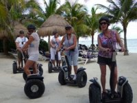 Segway in the sand