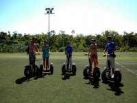 Segway in grass
