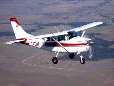 Flight on182 Cessna aircraft in Mexico City 1h