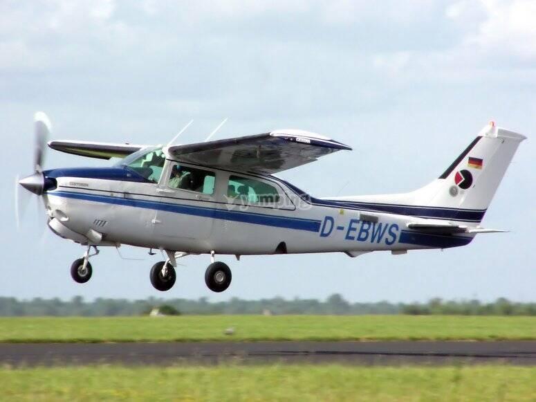 Cessna en avion