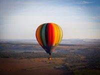 Vuelo en globo compartido en Huasca