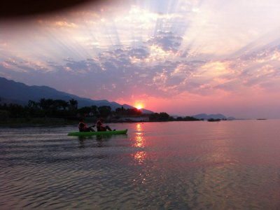 Kayak tour in Chapala Lake