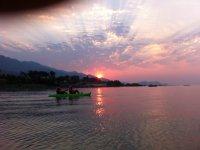 Kayak en el lago de Chapala