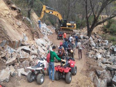 ATV ride to the El Durazno cascades