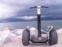 Segway and the sea